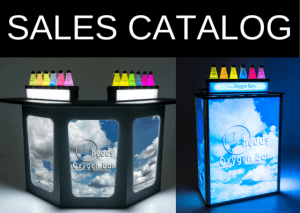 Oxygen Bar Sales Catalog