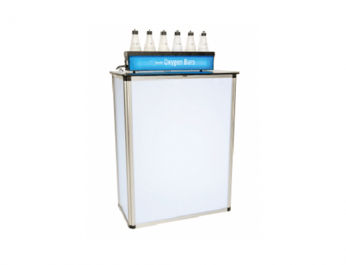 Portable Oxygen Bars, Table-tops & Bar Stands