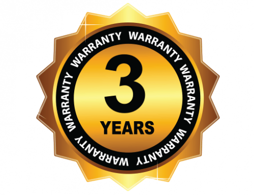 3 Year Warranty & Return Policy