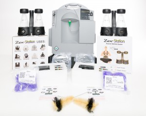 The Zen-Station Money Maker Oxygen Bar Package - Service for up to 4 people